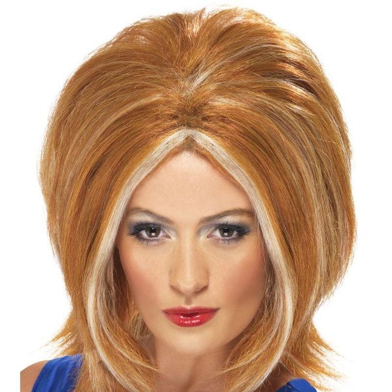 Girl Power Wig - One Size Womens Ginger