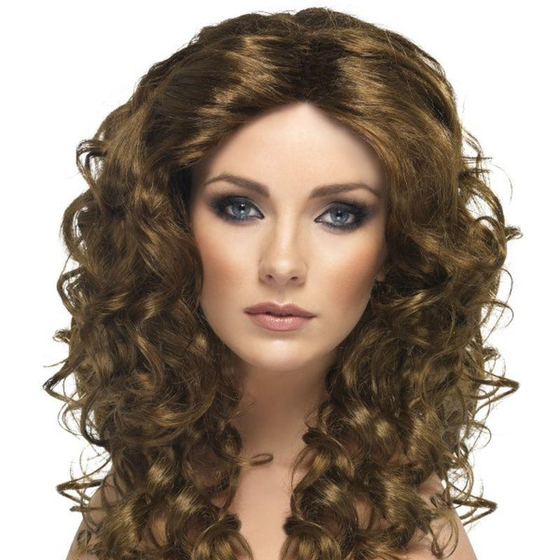 Glamour Wig - One Size Womens Brown