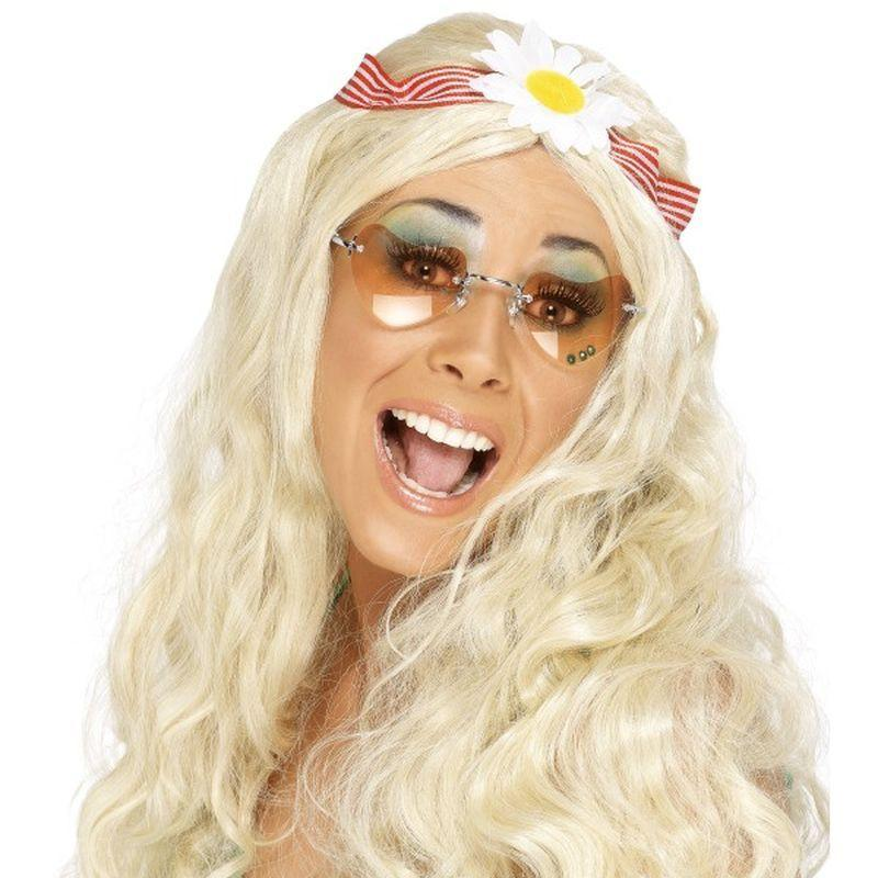 Groovy Wig - One Size Womens Blonde