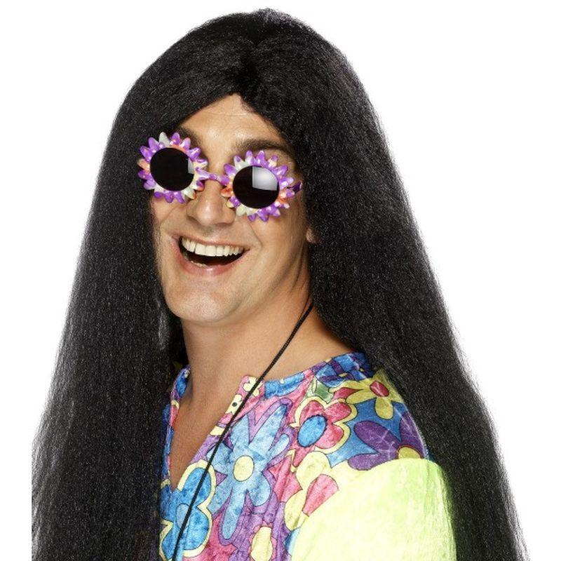 Hippy Wig - One Size Mens Black
