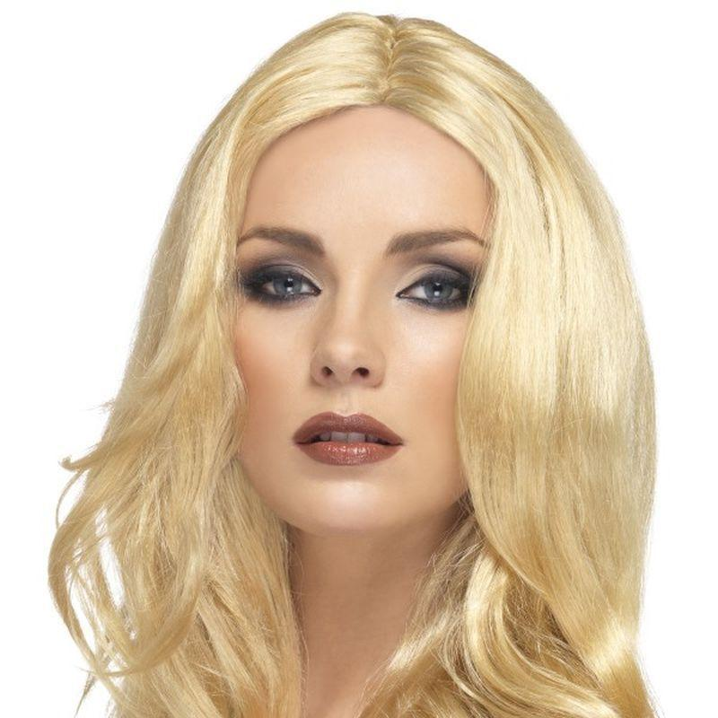 Superstar Wig - One Size Womens Blonde