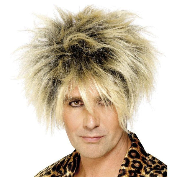 Wild Boy Wig - One Size Mens Blonde