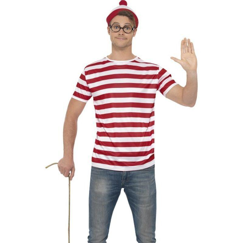 "Where's Wally Kit - Chest 42""-44"", Leg Inseam 33"""