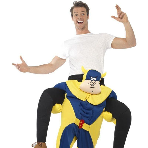 Bananaman Piggy Back Costume - One Size