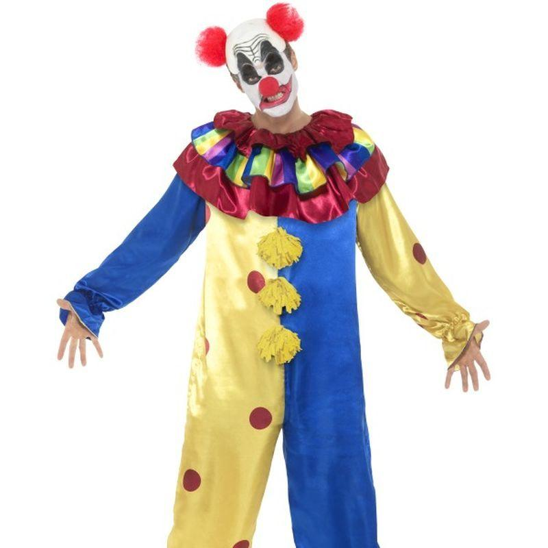 Goosebumps Clown Costume with Jumpsuit - Medium