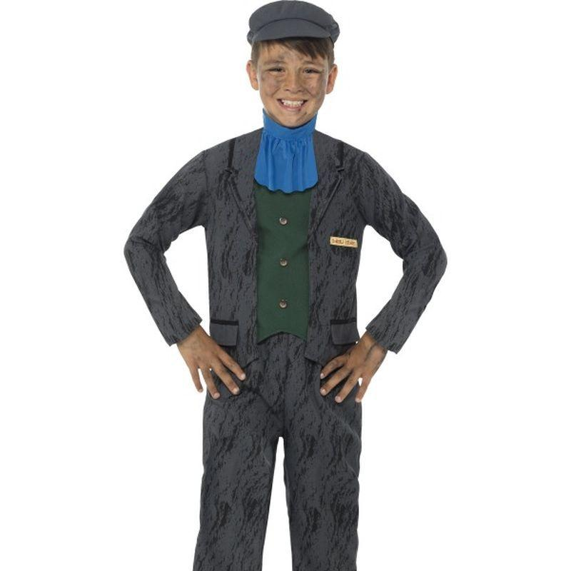 Horrible Histories Miner Costume - Small Age 4-6