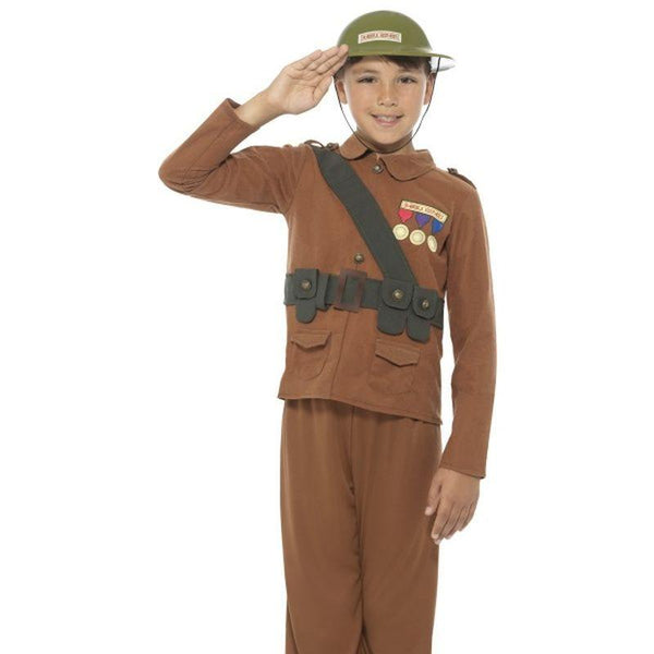 Horrible Histories Soldier Costume - Small Age 4-6
