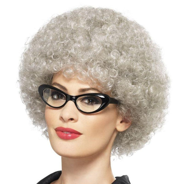 Granny Perm Wig - One Size