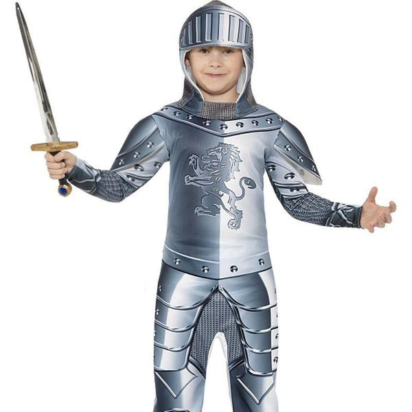 Deluxe Armoured Knight Costume - Small Age 4-6
