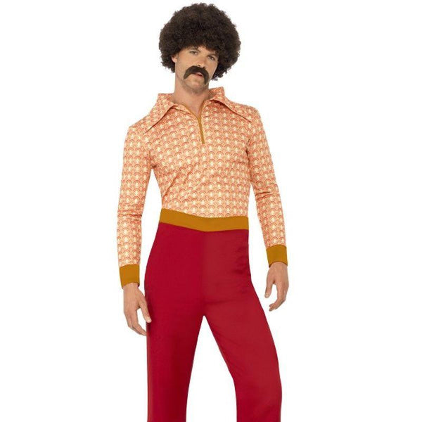 "Authentic 70 's Guy Costume - Chest 46""-48"""