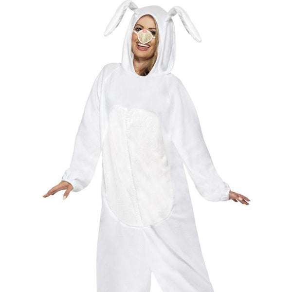 "White Rabbit Costume - Chest 42""-44"", Leg Inseam 33"""