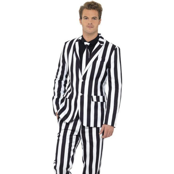 Humbug Suit - XL Mens Black/White