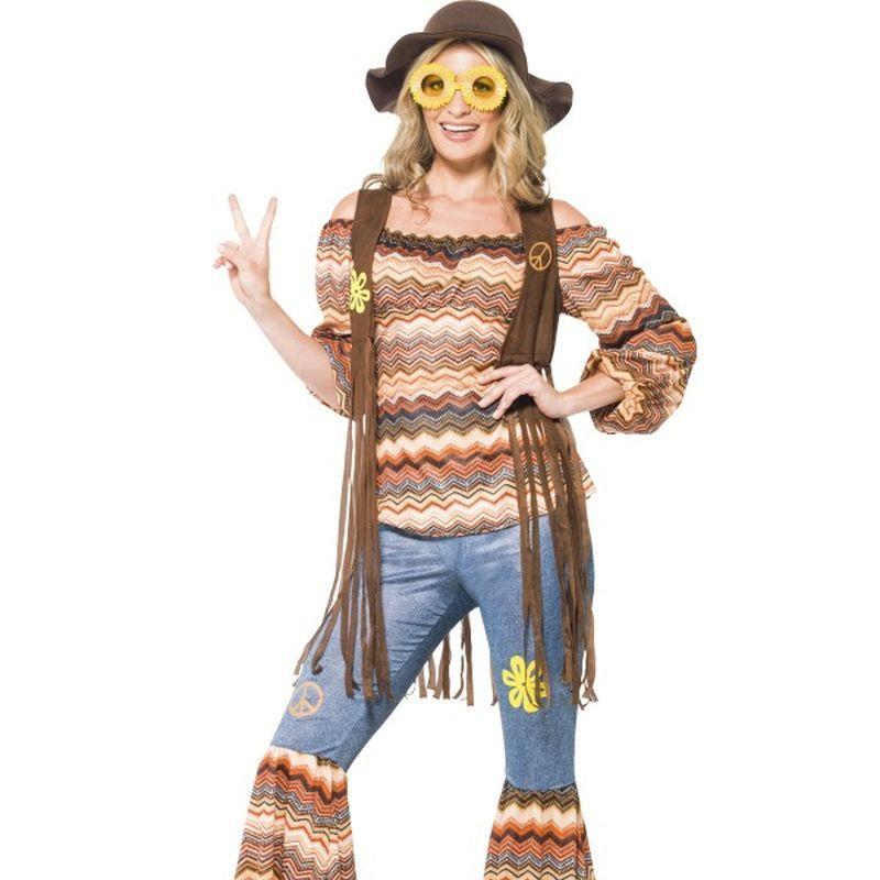 Harmony Hippie Costume - UK Dress 8-10