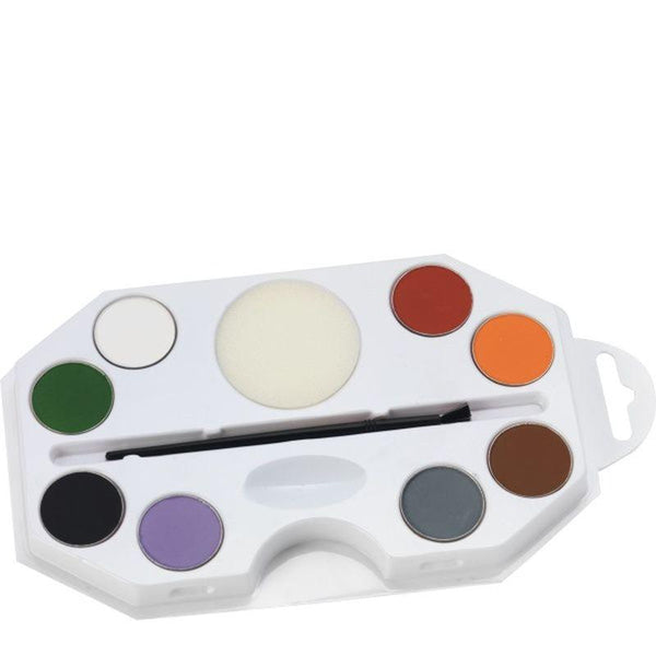 Smiffys Make Up FX, Aqua, Halloween Kit - One Size