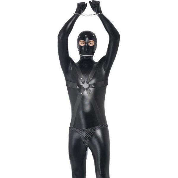 Gimp Costume - Medium Mens Black