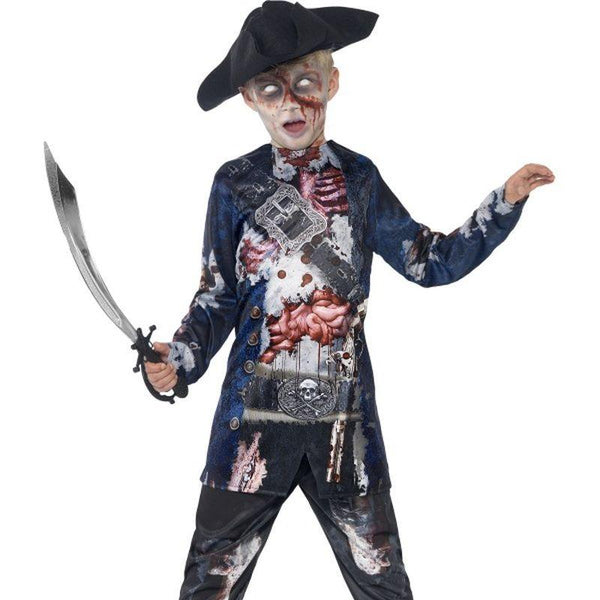 Deluxe Jolly Rotten Pirate With Top And Trousers - Tween 13+