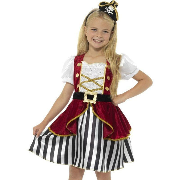 Deluxe Pirate Girl Costume - Small Age 4-6