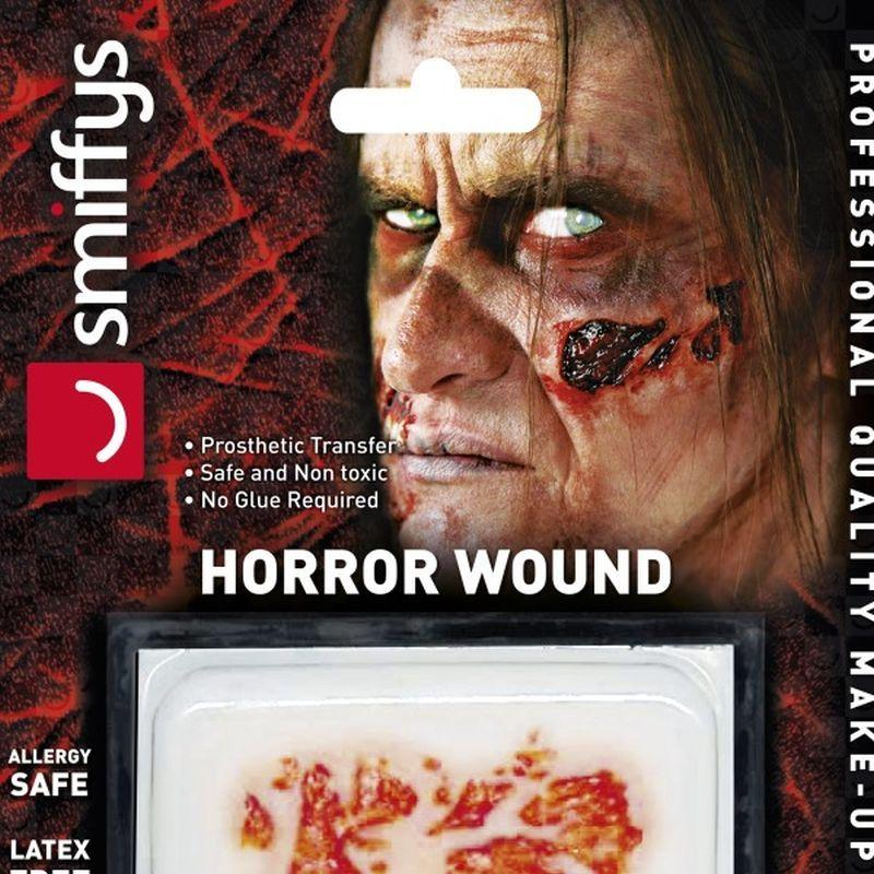 Horror Wound Transfer, Zombie Rot - One Size