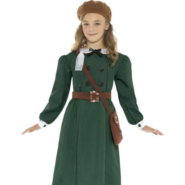 Ww2 Evacuee Girl Costume - Tween 12+