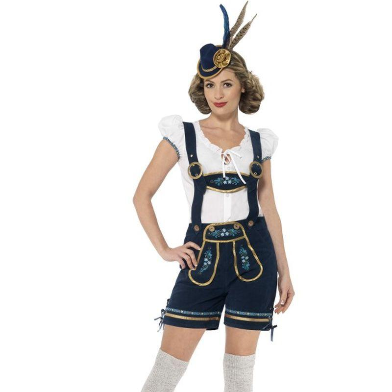 Traditional Deluxe Bavarian Costume - UK Dress 8-10