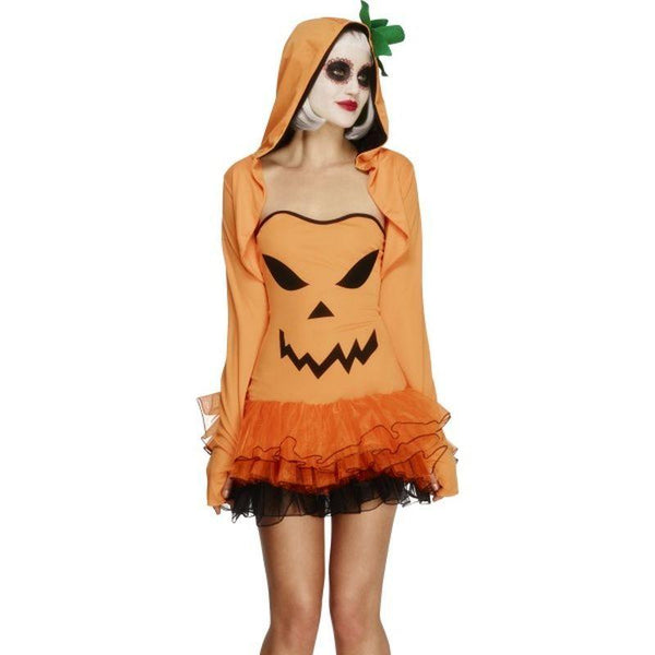 Fever Pumpkin Tutu Dress with Detachable Straps - UK Dress 8-10 Womens Orange