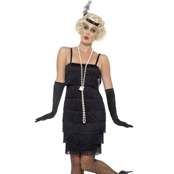 Flapper Costume - UK Dress 8-10