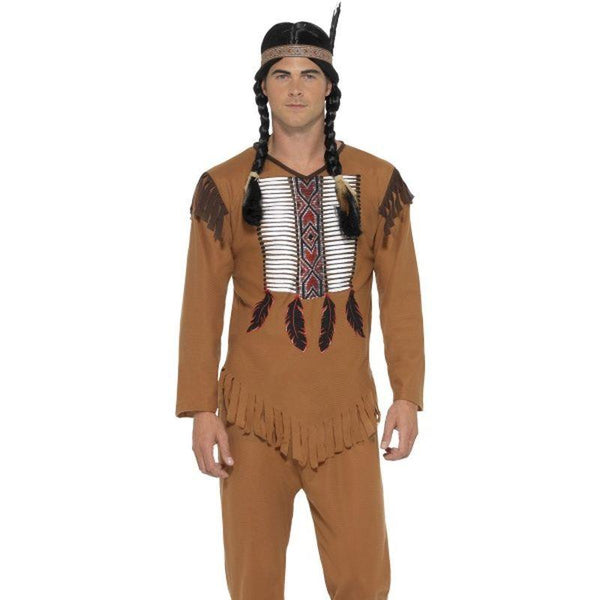 "Native Western Warrior Costume - Chest 46""-48"""