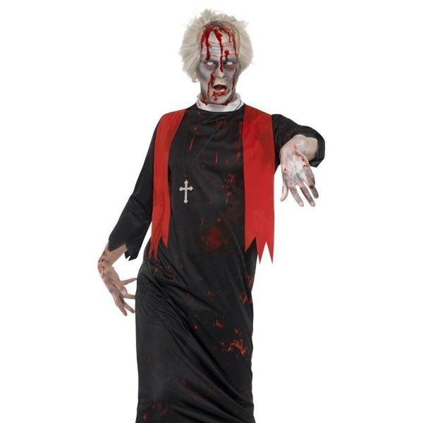 "Zombie High Priest Costume - Chest up to 48"", Leg Inseam 33.25"""