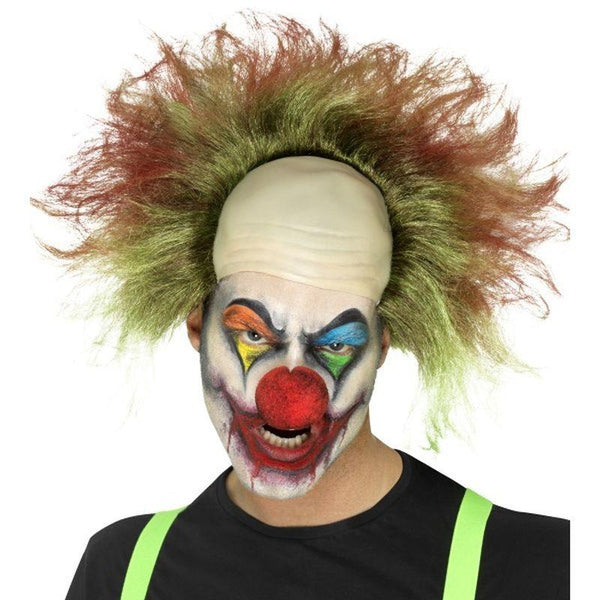 Sinister Clown Wig - One Size