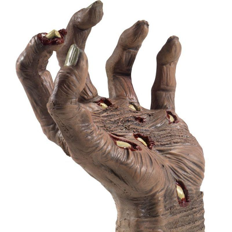Latex Rotting Zombie Hand Prop - One Size