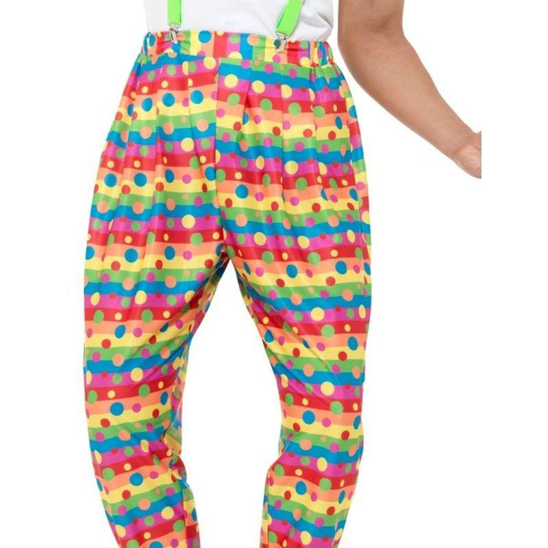 Clown Trousers Adult Neon