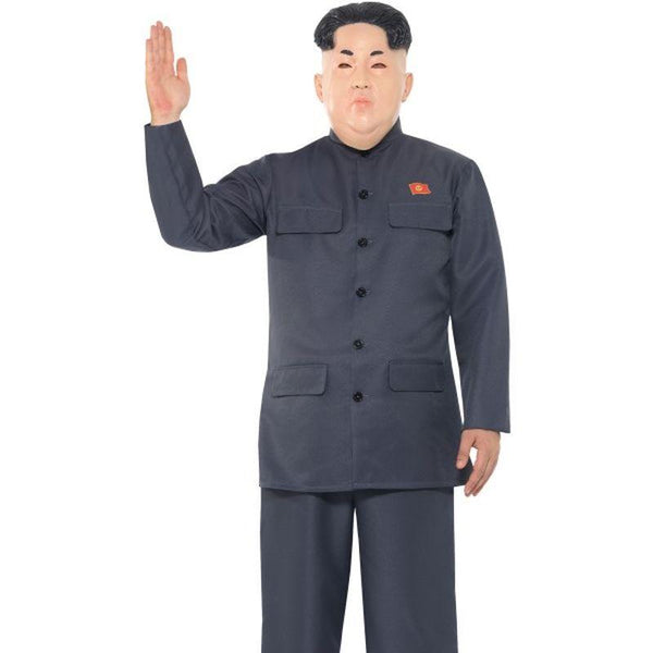 Dictator Costume Adult Grey