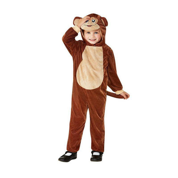 Toddler Monkey Costume Toddler Brown