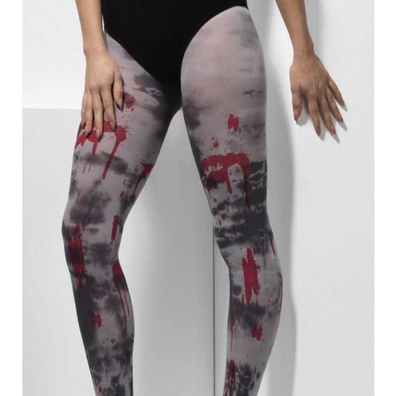 Opaque Tights, Zombie Dirt - UK Dress Size 6-14