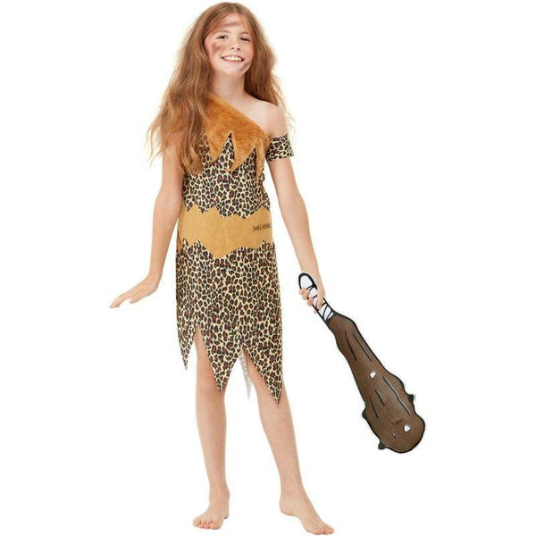 Horrible Histories Cave Costume Child Brown