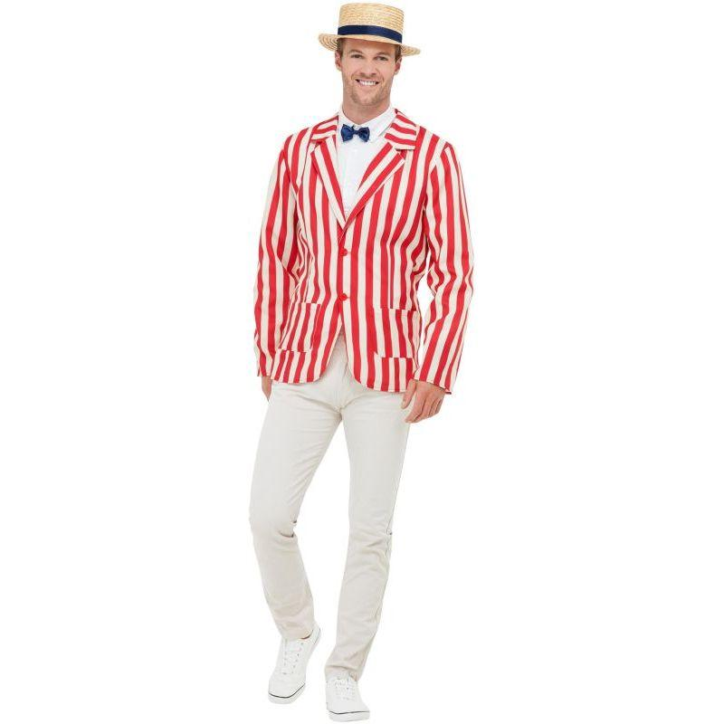 20s Barber Shop Costume Adult Red / White
