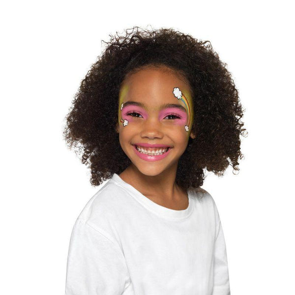 Smiffys Make Up FX, Kids Five Character Kit, Aqua Child Multi