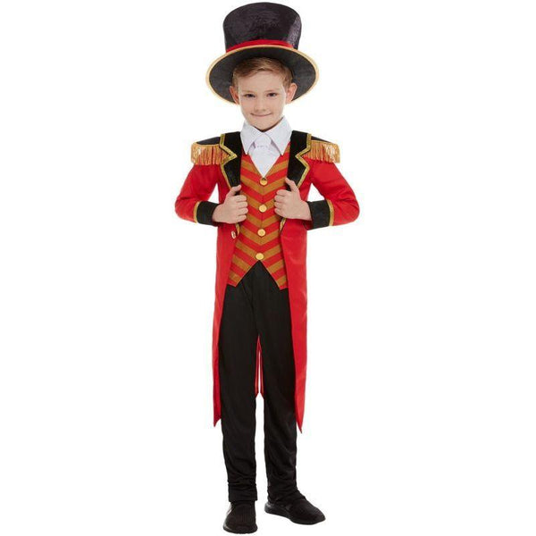 Deluxe Ringmaster Costume Child Red