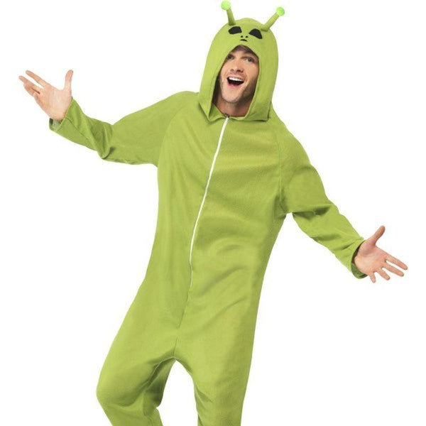 Alien Costume - Small Mens Green
