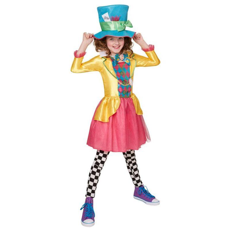 Disney Mad Hatter Girls Costume