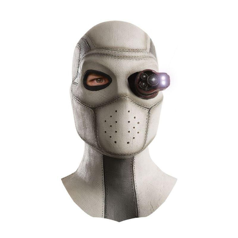 Rubie's Costume Co Suicide Squad Deadshot Overhead Lighted Latex Mask
