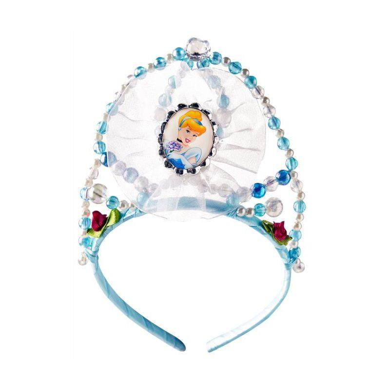 Rubie's Women's Official Disney Princess Cinderella Beaded Tiara One Size