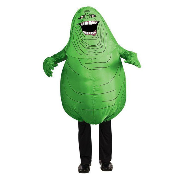 Adult Ghostbusters Green Slimer Inflatable Costume
