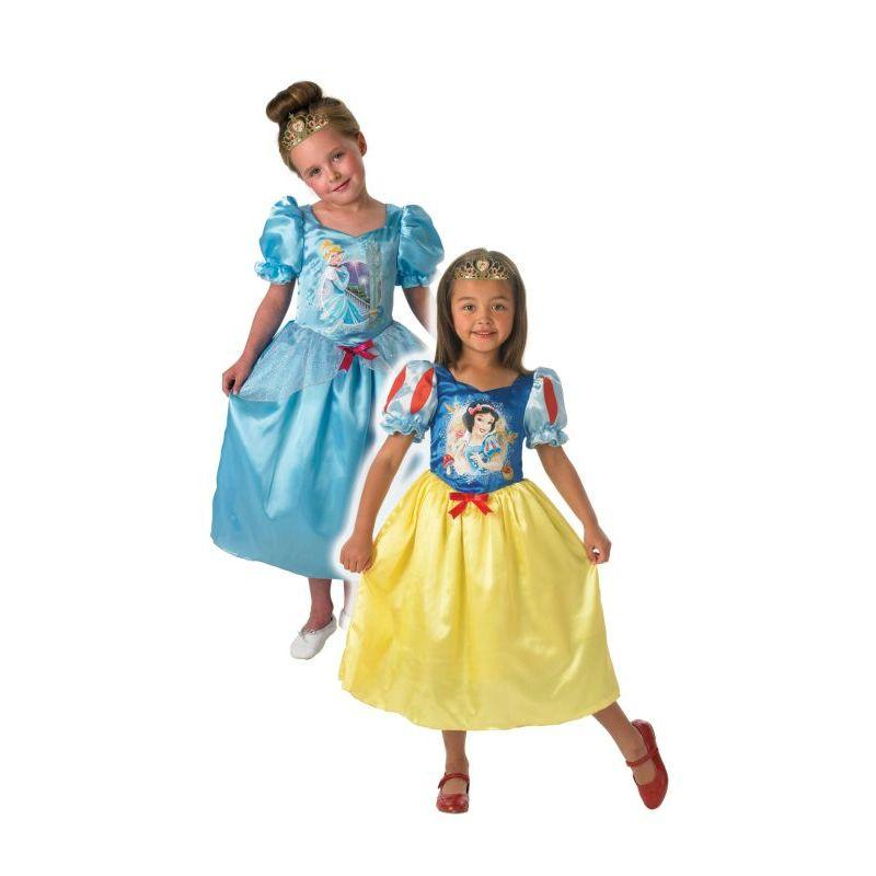 Reversible Cinderella & Snow White Kids Costume