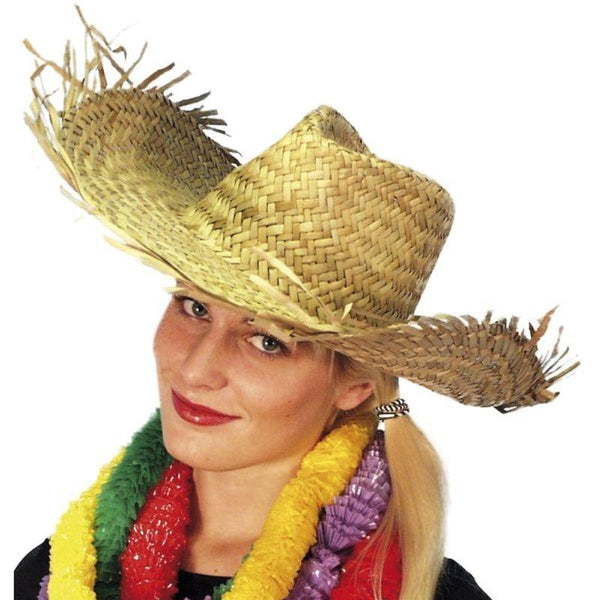Beachcomber Hawaiian Straw Hat - One Size