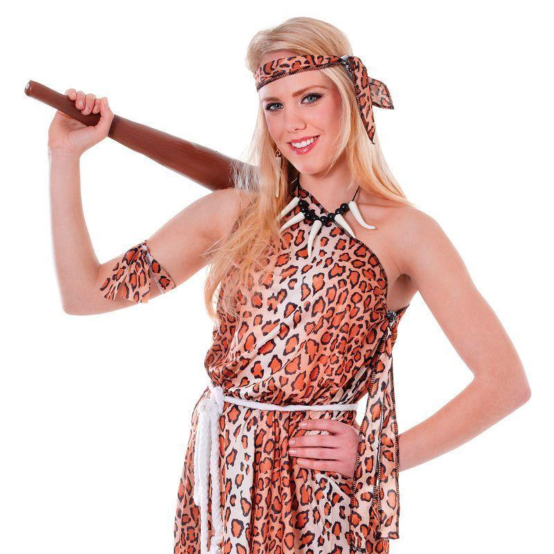 Womens Cavewoman Adult Costume - Female - One Size Halloween Costume