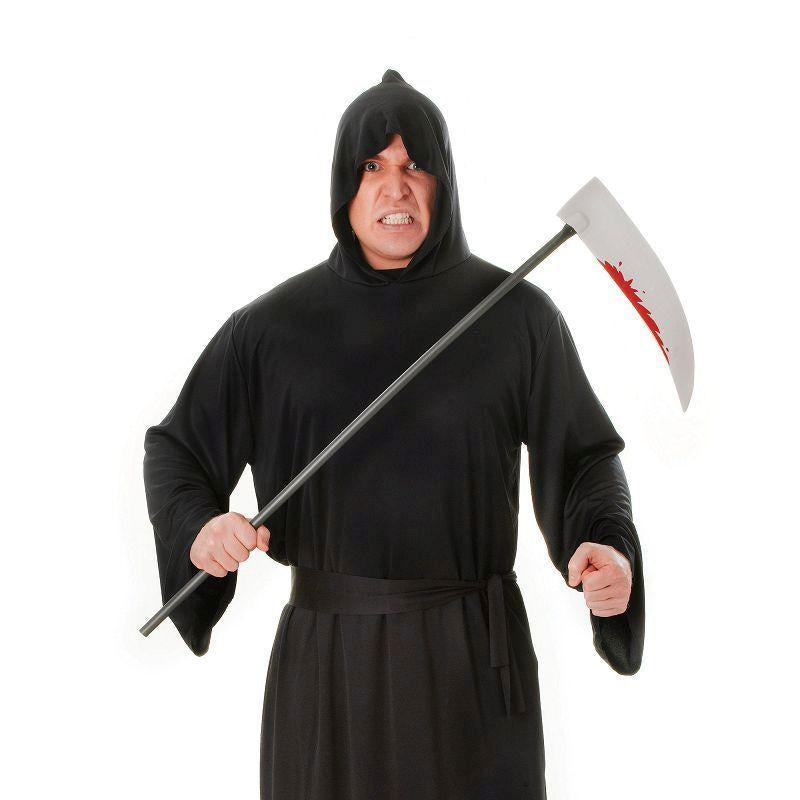 Mens Horror Robe. Black Adult Costume - Male - One Size Halloween Costume