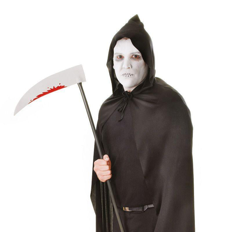 Hooded Cape Black Adult Costume - Unisex - One Size
