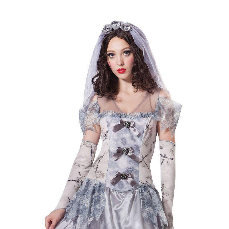 Ghost Bride (Adult Costumes) - Female - UK Size 10-14