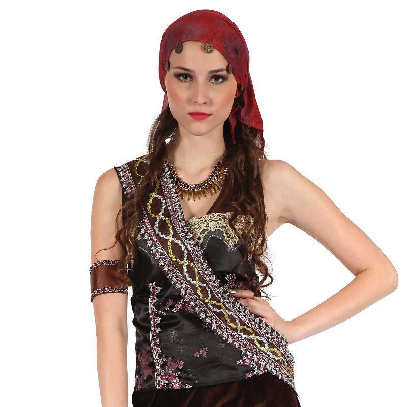 Womens Pirate Gypsy Lady (Adult Costumes) - Female - One Size Halloween Costume